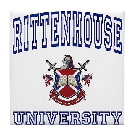 RITTENHOUSE University Tile Coaster