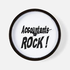 Accountants Rock ! Wall Clock