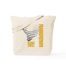 Frankenstorm Hurricane Sandy Tote Bag