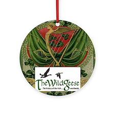 Card logo 2 Round Ornament