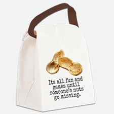 Its All Fun And Games... Canvas Lunch Bag