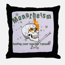 Monotheism LGtray Throw Pillow