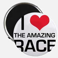 I Love The Amazing Race Magnet