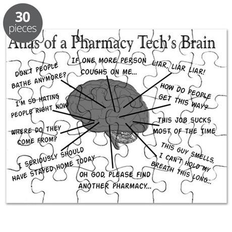 Atlas of a pharmacy techs brain Puzzle by Admin_CP11157433