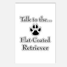 Flat Coat Talk Postcards (Package of 8)