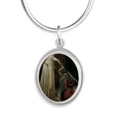 The Accolade Silver Oval Necklace