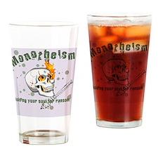 monokindle sleeve Drinking Glass