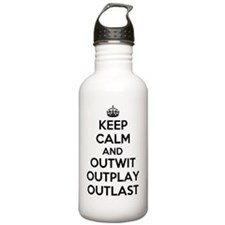 Keep Calm and Outwit,  Water Bottle