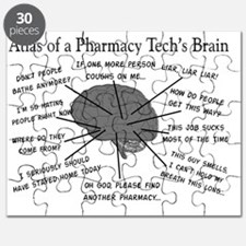 Atlas of a pharmacy techs brain Puzzle