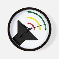 Reggae Loud Wall Clock