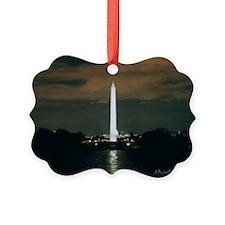 Washington Monument Picture Ornament