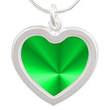 SLIDER Silver Heart Necklace