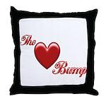 The Love Bump Throw Pillow