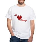 The Love Bump White T-Shirt