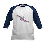 The Love Bump Kids Baseball Jersey