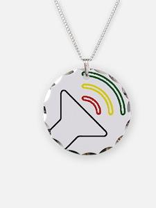 Reggae Listen Necklace