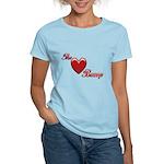 The Love Bump Women's Light T-Shirt