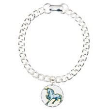 Unicorn Prancing Side Re Bracelet