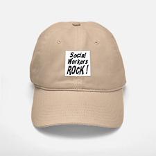 Social Workers Rock ! Baseball Baseball Cap