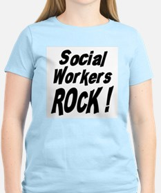 Social Workers Rock ! T-Shirt