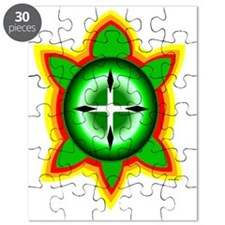 SOUTHEASTERN TRIBAL TURTLE Puzzle