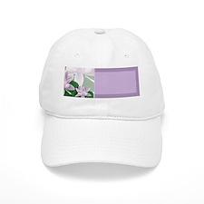 Water Lily Address Labels Baseball Cap
