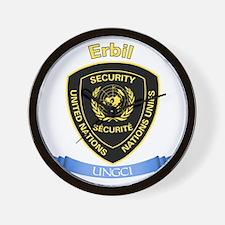 UNGCI Sector Erbil Wall Clock