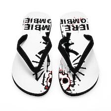 Here zombie,zombie Flip Flops