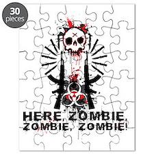 Here zombie,zombie Puzzle