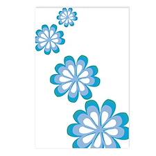 Groovy Flowers Postcards (Package of 8)