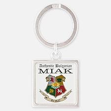 Got Miak Square Keychain