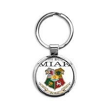 Got Miak Round Keychain