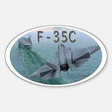 F-35C Sticker (Oval)