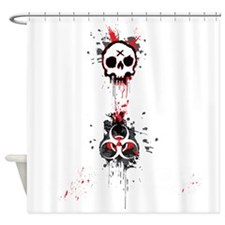 Here zombie, zombie Shower Curtain