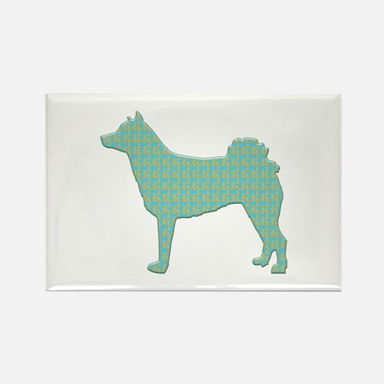 Paisley Norrbottenspets Rectangle Magnet (100 pack