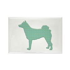 Paisley Norrbottenspets Rectangle Magnet