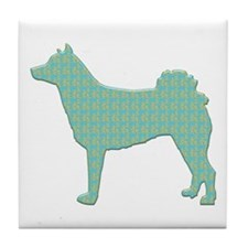 Paisley Norrbottenspets Tile Coaster