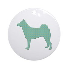 Paisley Norrbottenspets Ornament (Round)