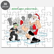 MMA Santa vs SnowMonster Puzzle