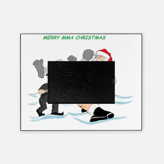 MMA Santa vs SnowMonster Picture Frame