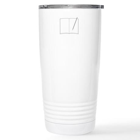 Original blog-white Stainless Steel Travel Mug