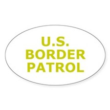 U.S. Border Patrol Oval Decal