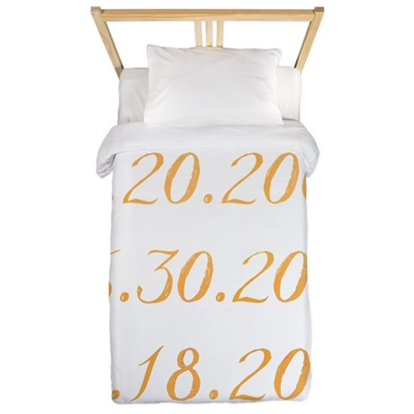 Dates Twin Duvet