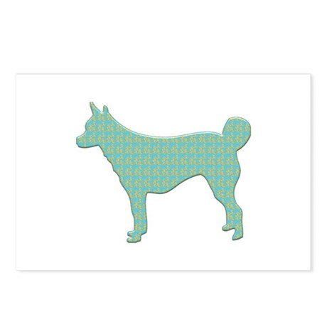 Paisley Lundehund Postcards (Package of 8)