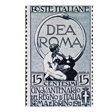 Dea Roma - Vintage Postag Postcards (Package of 8)