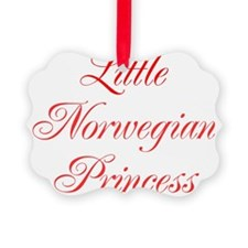Little Norwegian Princess Ornament