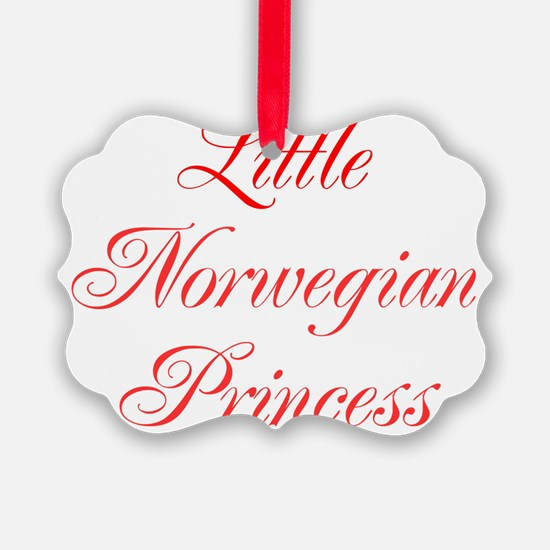 Little Norwegian Princess Ornament