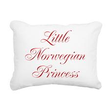 Little Norwegian Princes Rectangular Canvas Pillow