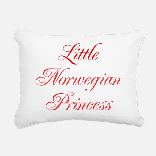 Little Norwegian Princes Rectangular Canvas Pillow