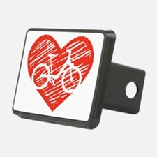 Bicycle Heart Hitch Cover